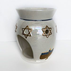 Yankee Candle votive candle holder Star of David